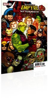 Marvel Comics: Empyre: Aftermath - Avengers - Issue # 1 Cover