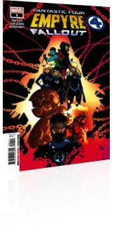 Marvel Comics: Empyre: Fallout - Fantastic Four - Issue # 1 Cover