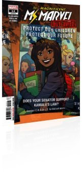Marvel Comics: Magnificent Ms. Marvel - Issue # 14 Cover