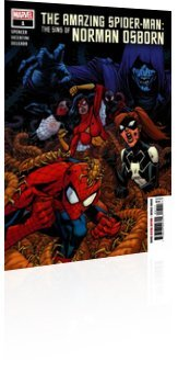 Marvel Comics: The Amazing Spider-Man: The Sins of Norman Osborn - Issue # 1 Cover