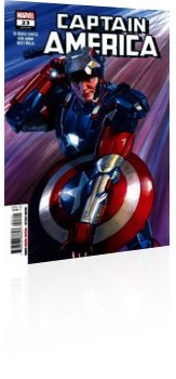 Marvel Comics: Captain America - Issue # 23 Cover