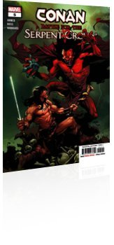 Marvel Comics: Conan: Battle for the Serpent Crown - Issue # 5 Cover