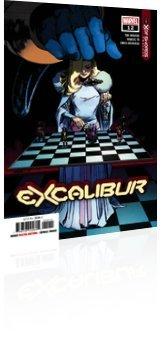 Marvel Comics: Excalibur - Issue # 12 Cover