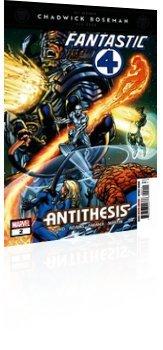 Marvel Comics: Fantastic Four: Antithesis - Issue # 2 Cover