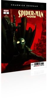 Marvel Comics: Spider-Man Noir - Issue # 4 Cover