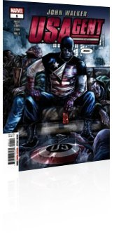 Marvel Comics: U.S.Agent - Issue # 1 Cover