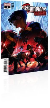 Marvel Comics: Champions - Issue # 2 Cover