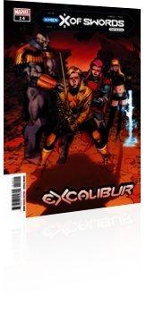 Marvel Comics: Excalibur - Issue # 14 Cover