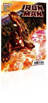 Marvel Comics: Iron Man - Issue # 3 Cover