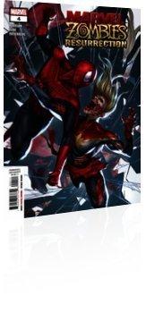 Marvel Comics: Marvel Zombies: Resurrection - Issue # 4 Cover