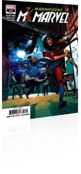 Marvel Comics: Magnificent Ms. Marvel - Issue # 16 Cover