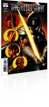 Marvel Comics: Taskmaster - Issue # 1 Cover