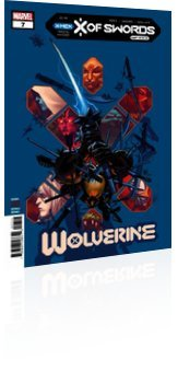 Marvel Comics: Wolverine - Issue # 7 Cover