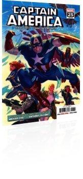 Marvel Comics: Captain America - Issue # 25 Cover