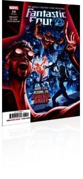 Marvel Comics: Fantastic Four - Issue # 26 Cover
