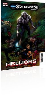 Marvel Comics: Hellions - Issue # 6 Cover
