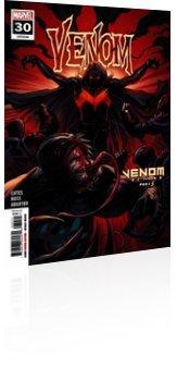 Marvel Comics: Venom - Issue # 30 Cover