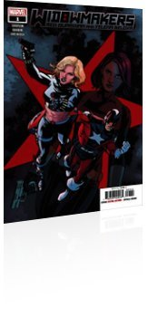 Marvel Comics: Widowmakers: Red Guardian and Yelena Belova - Issue # 1 Cover