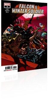 Marvel Comics: Falcon & Winter Soldier - Issue # 5 Cover