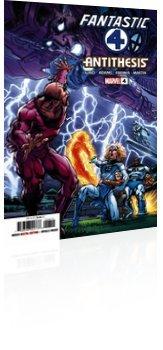 Marvel Comics: Fantastic Four: Antithesis - Issue # 4 Cover
