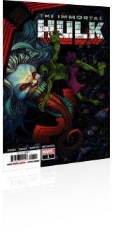 Marvel Comics: King in Black: Immortal Hulk - Issue # 1 Cover