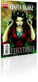 Marvel Comics: Anita Blake: The Laughing Corpse - Executioner - Issue # 1 Cover