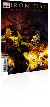 Marvel Comics: Iron Fist: Heart of the Dragon - Issue # 2 Cover