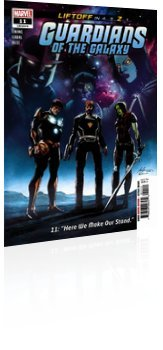 Marvel Comics: Guardians of the Galaxy - Issue # 11 Cover