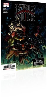 Marvel Comics: King in Black - Issue # 4 Cover