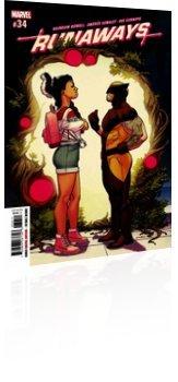 Marvel Comics: Runaways - Issue # 34 Cover