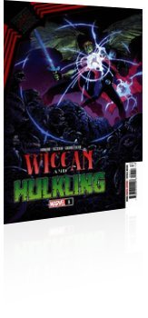 Marvel Comics: King in Black: Wiccan and Hulking - Issue # 1 Cover