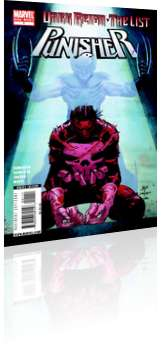 Marvel Comics: Dark Reign: The List - Punisher - Issue # 1 Cover