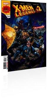 Marvel Comics: X-Men: Legends - Issue # 2 Cover