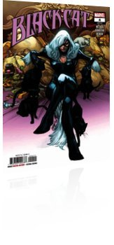 Marvel Comics: Black Cat - Issue # 4 Cover