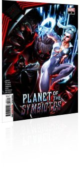 Marvel Comics: King in Black: Planet of the Symbiotes - Issue # 3 Cover