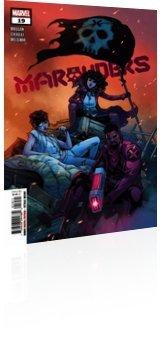 Marvel Comics: Marauders - Issue # 19 Cover