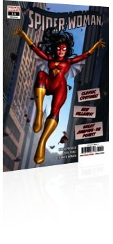 Marvel Comics: Spider-Woman - Issue # 11 Cover