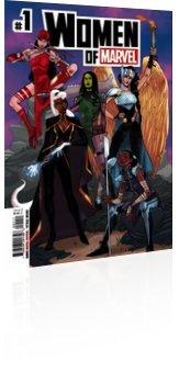 Marvel Comics: Women of Marvel - Issue # 1 Cover