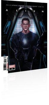 Marvel Comics: Alien - Issue # 2 Cover