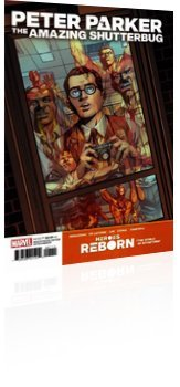 Marvel Comics: Heroes Reborn: Peter Parker - The Amazing Shutterbug - Issue # 1 Cover