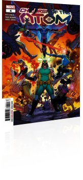Marvel Comics: Children of the Atom - Issue # 4 Cover