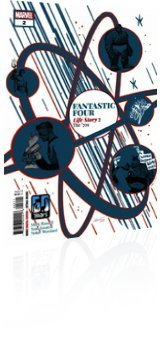 Marvel Comics: Fantastic Four: Life Story - Issue # 2 Cover