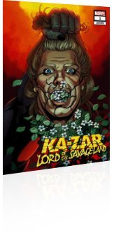 Marvel Comics: Ka-Zar: Lord of the Savage Land - Issue # 1 Page 1