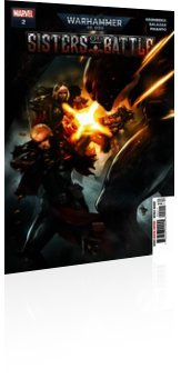 Marvel Comics: Warhammer 40000: Sisters of Battle - Issue # 2 Cover