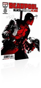 Marvel Comics: Deadpool: Black, White, & Blood - Issue # 3 Cover