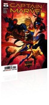Marvel Comics: Captain Marvel - Issue # 33 Cover