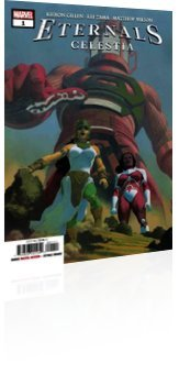 Marvel Comics: Eternals: Celestia - Issue # 1 Cover