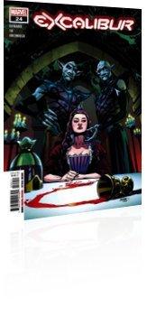 Marvel Comics: Excalibur - Issue # 24 Cover