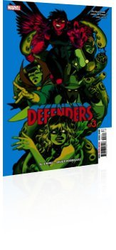 Marvel Comics: Defenders - Issue # 3 Cover