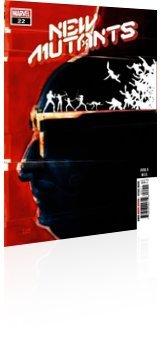 Marvel Comics: New Mutants - Issue # 22 Cover